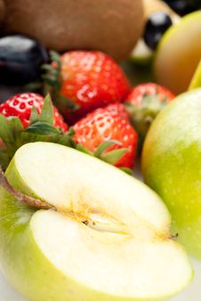 Free Assorted Fresh Fruits Background Royalty Free Stock Images - 8732969