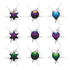 Free Grunge Shape Stock Image - 8733371