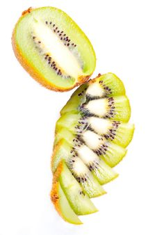 Free Sliced Ripe Kiwi Stock Images - 8733574