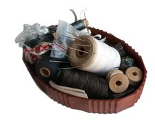 Free Thread And Needle Box Royalty Free Stock Photography - 8734917