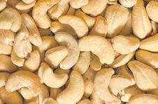 Free Fried Cashew Nuts Stock Photo - 8735110