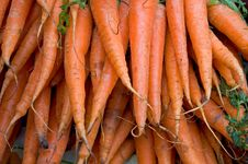 Free Market Carrots Royalty Free Stock Photos - 8735358