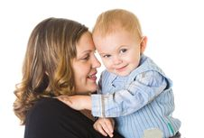 Free Mother And Son Stock Photos - 8735493