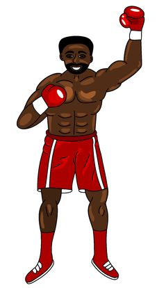 Free Boxer Winner Royalty Free Stock Photo - 8735895