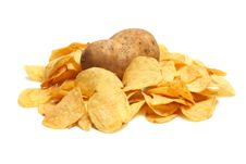 Free Chips Potato Royalty Free Stock Images - 8735969