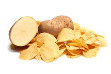 Free Chips Potato Royalty Free Stock Photography - 8735977