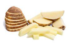 Free Cut Potato Stock Image - 8736001