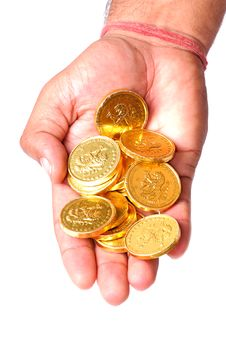 Free Gold Coins Stock Image - 8736321