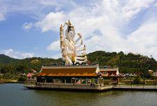 Free Wat Plai Laem Temple Samui Stock Photography - 8737192