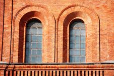 Free Windows In Fortress Wall Royalty Free Stock Photos - 8737198