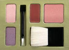 Free Makeup Set Royalty Free Stock Photo - 8738025
