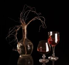 Free Two Goblets. Stock Photos - 8738603