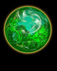 Free Go Green Planet Stock Photo - 8739000