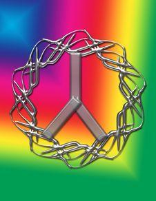 Free Rainbow Peace Image Stock Images - 8739704