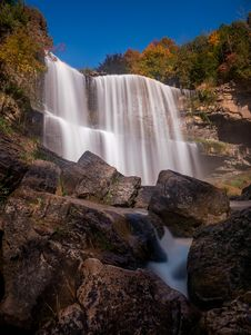 Free Webster S Falls, Dundas, Ontario Stock Photos - 87311483