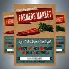 Free Farmers Market Royalty Free Stock Photography - 87312087