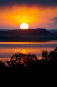 Free Road Trip: Santa Rosa Lake Royalty Free Stock Image - 87313606