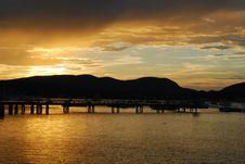 Free Southwest Harbor, ME Sunset Royalty Free Stock Photos - 87313918