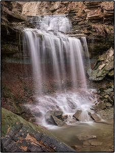 Free Lower Westcliffe Falls, Hamilton, Ontario Royalty Free Stock Photography - 87314277