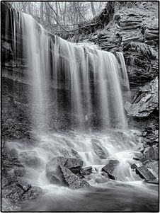 Free Lower Westcliffe Falls, Hamilton, Ontario Stock Photography - 87314342