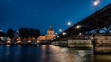 Free Pont Des Arts, Paris Stock Photography - 87314652
