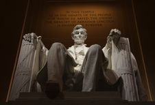 Free Abraham Lincolcn Statue Stock Photography - 87315702