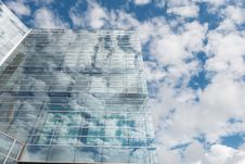 Free Bottom View Of Clear Glass Building Under Blue Cloudy Sky During Day Time Stock Photo - 87316160