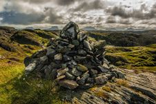 Free Rock Formation On Hills Stock Photo - 87318250