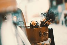 Free Close-up Of Flowers On Table Royalty Free Stock Photos - 87318728