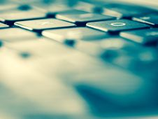 Free Close-up Of Computer Keyboard Royalty Free Stock Image - 87318926