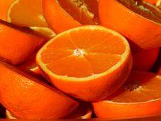 Free Sliced Orange Fruits Stock Photo - 87323030