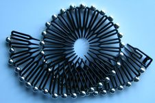 Free Flexible Hair Comb Royalty Free Stock Image - 87380386