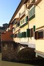 Free Medieval Bridge Ponte Vecchio In Florence Stock Photo - 8748940