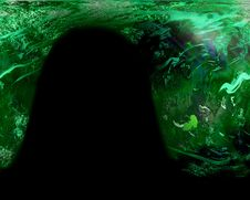 Free Green Planet Background Royalty Free Stock Photo - 8740015