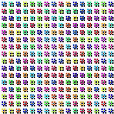Free Flowers And Shadows Pattern Stock Images - 8740074