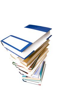 Free A Pile Of Books Royalty Free Stock Image - 8740246