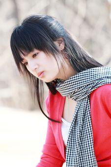 Free Asian Girl. Royalty Free Stock Photos - 8740248