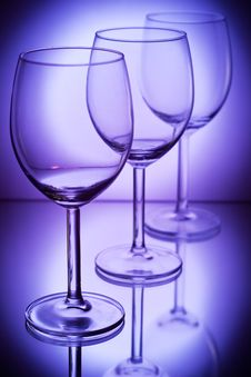 Free Wine Glasses Royalty Free Stock Photography - 8741367
