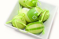 Free Easter Eggs Royalty Free Stock Photography - 8741737