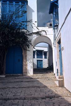 Sid Bou Said,Tunisia Stock Photography