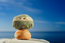 Free Two Stone Royalty Free Stock Image - 8742126