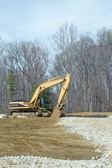 Free Excavator Royalty Free Stock Image - 8742166