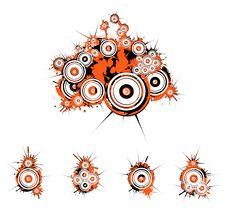 Free Orange Grunge Background Royalty Free Stock Image - 8742186