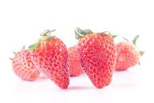 Free Strawberry Isolated On White Royalty Free Stock Image - 8743356