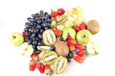 Free Assorted Fresh Fruits Background Royalty Free Stock Images - 8743379