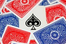 Free Ace Of Spades Stock Photography - 8743802