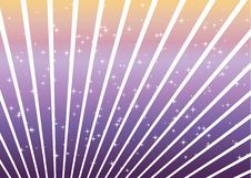Free Purple And Orange Lines And Stars Stock Photography - 8744672