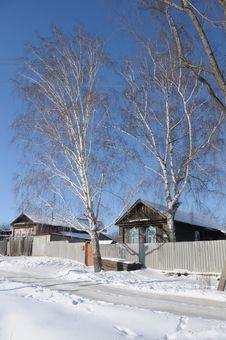 Free Winter Landscape Stock Photography - 8745322