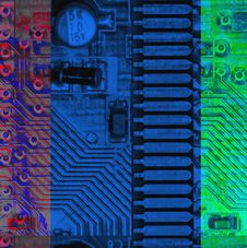 Free Electronic Board Stock Photography - 8745702