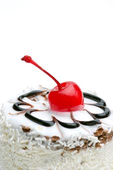 Free Cherry Topping Royalty Free Stock Image - 8745726
